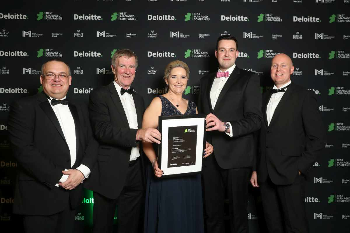 Toga Group announced as one of Ireland's Best Managed Companies!